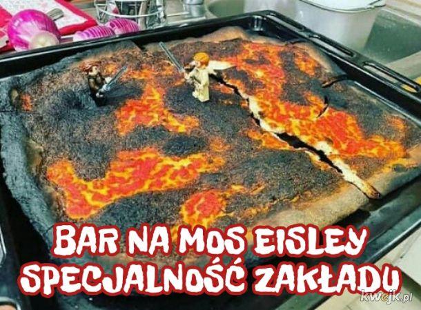 Pizza Mustafar