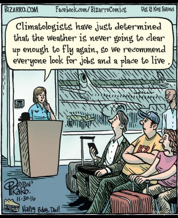 Zmiany klimatu wymuszają zmiany w życiu.