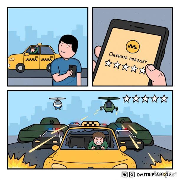Oceń swojego kierowcę