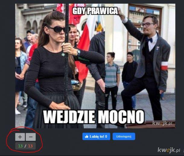 Tak Polska podzielona, nawet na kwejku :(