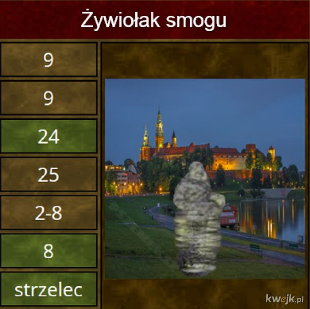 Gdyby Kraków był miastem w Heroes III