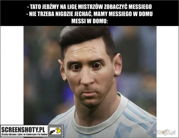 Messi w domu