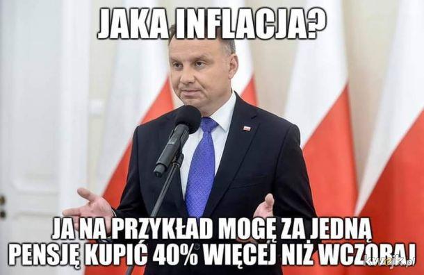 Inflacja? Nie zauważyłem