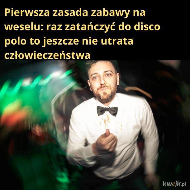 Nawet po pijaku nie zatańczę do disco polo!
