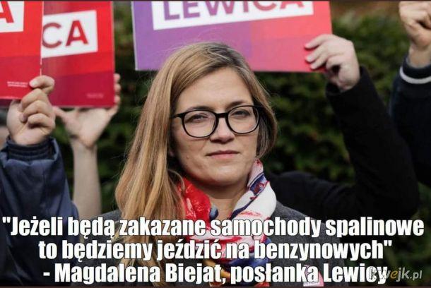 Boję się pomyśleć co by było gdyby Lewica i jej inteligentni posłowie wygrali wybory parlamentarne.