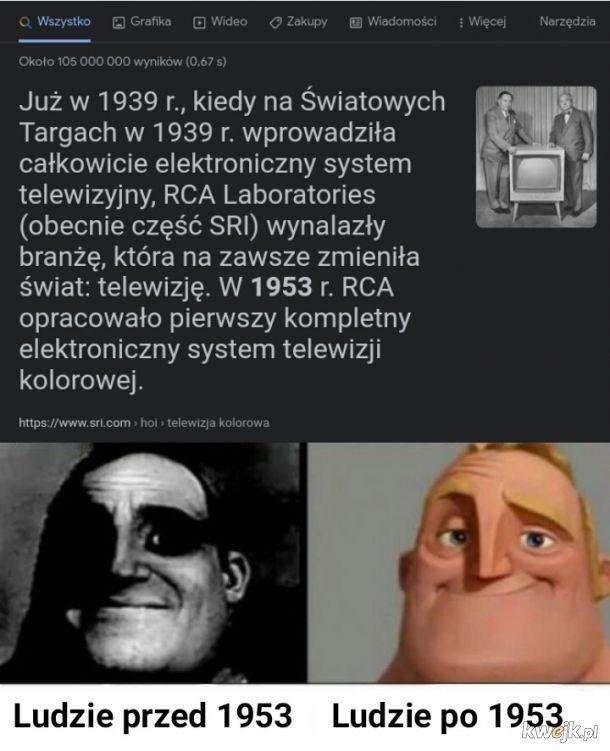 Ludzie, którzy nie wiedzą jak wyglądała kiedyś telewizja