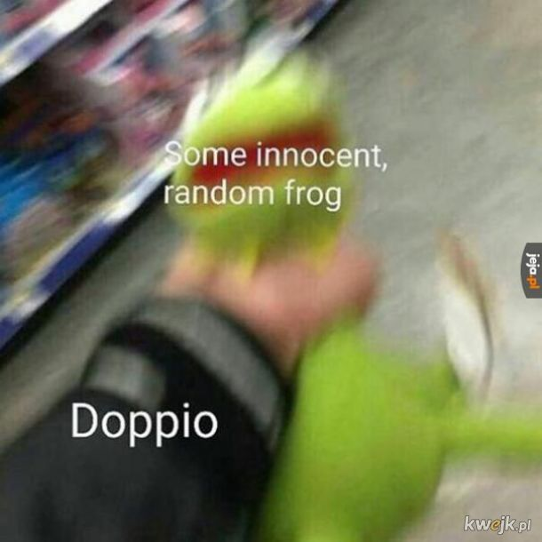 Biedna Żabka