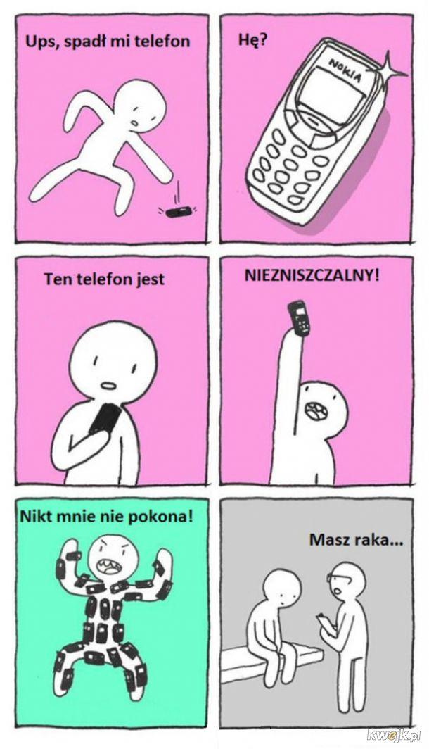 Niezniszczalny telefon