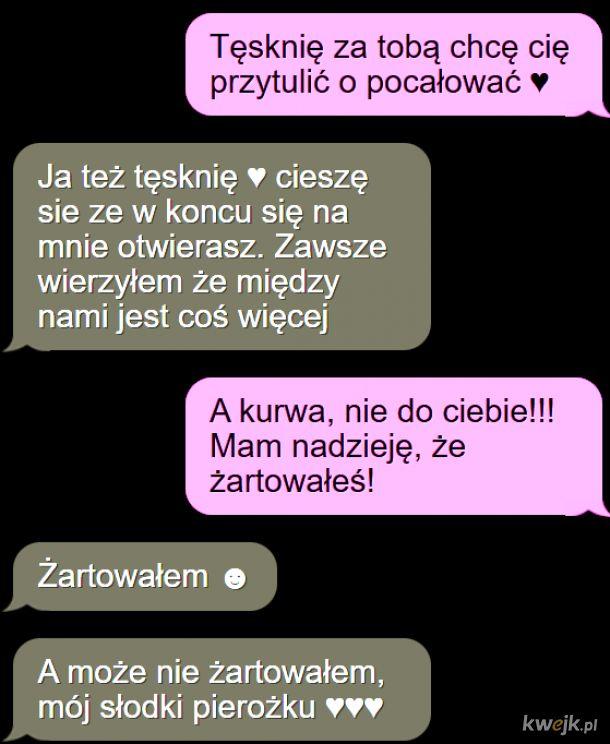 Słodkie smsy ech