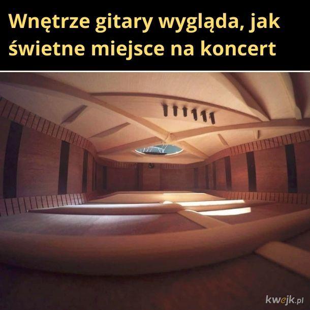 Bo to jest świetne miejsce na koncert. Pomyśl o tym