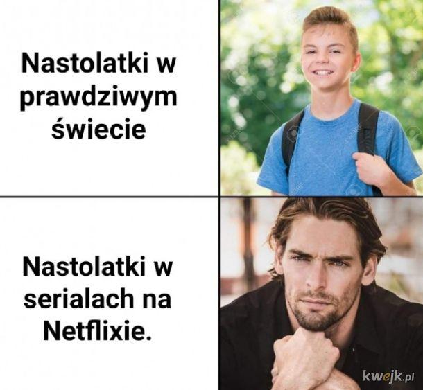 Nastolatki na Netflix