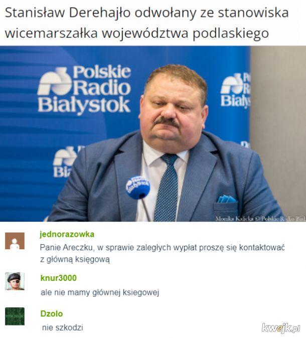 Panie Areczku...