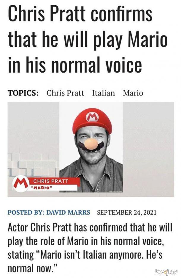Werdykt oczywisty - Mario jest normalny (cokolwiek to znaczy).