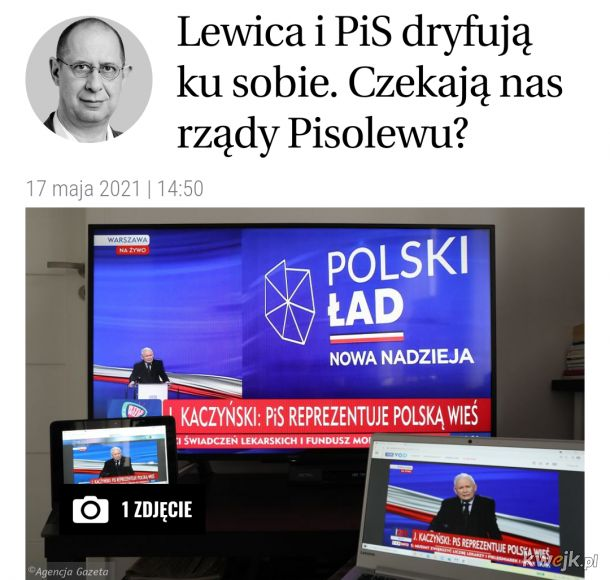 Lewica tak często popiera PiS podczas głosowań w Sejmie, że szykuje nam się chyba koalicja.