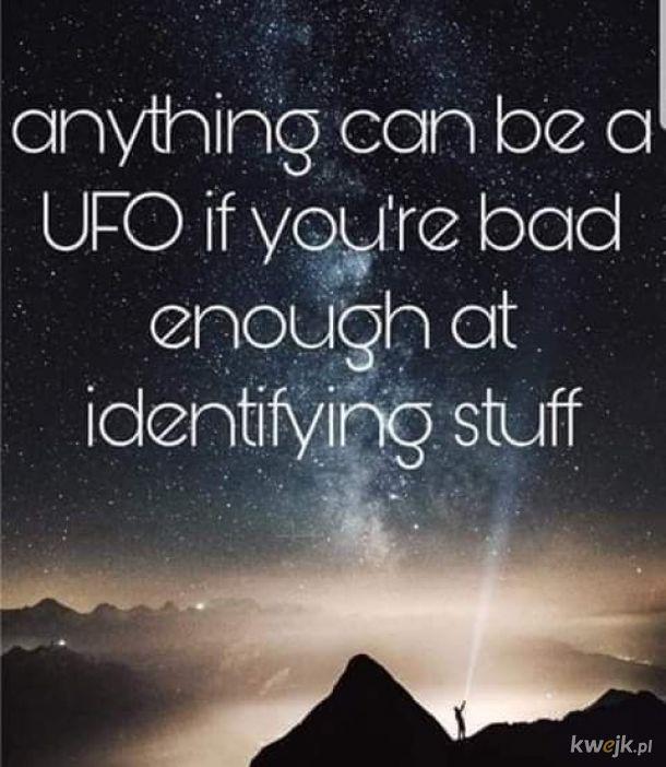 UFO, UFO wszędzie!
