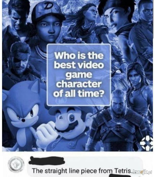Najwspanialszy bohater z gier wszechczasów.