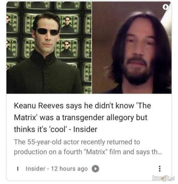 Keanu Reeves jest najwspanialszy