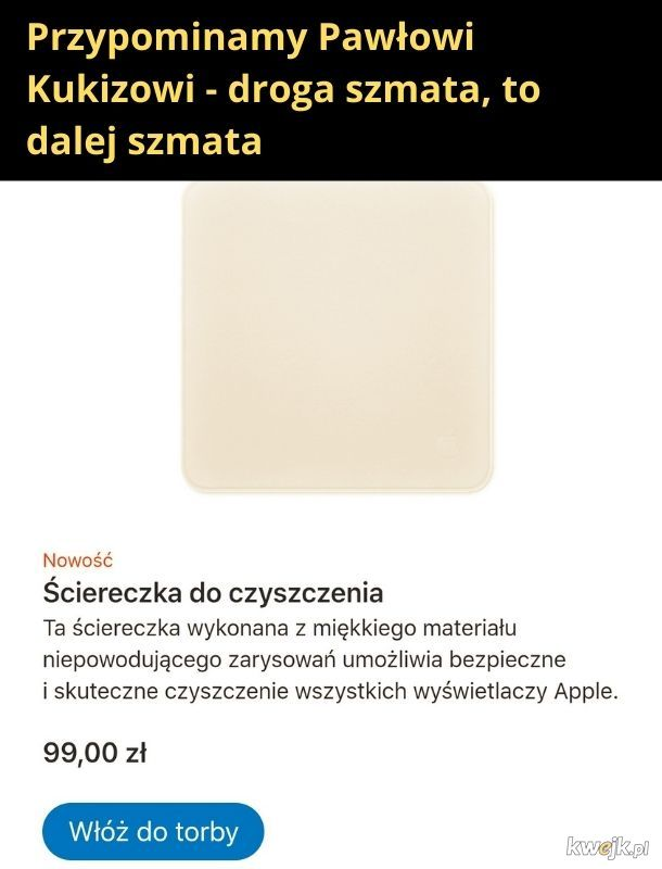Szmata od Appla
