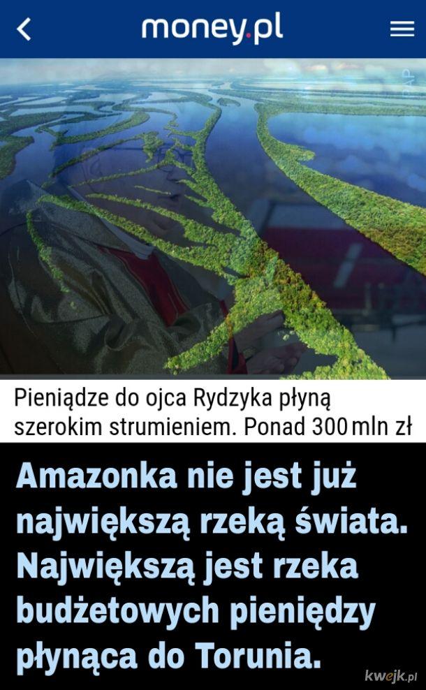 Amazonka zdetronizowana!