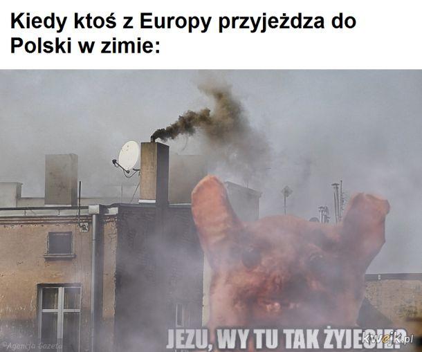 Polska w zimę