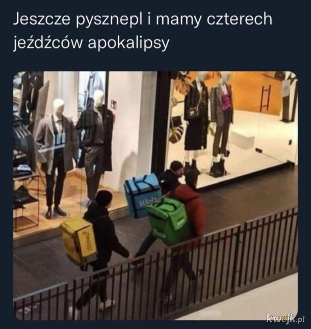 Przybędą na skuterach