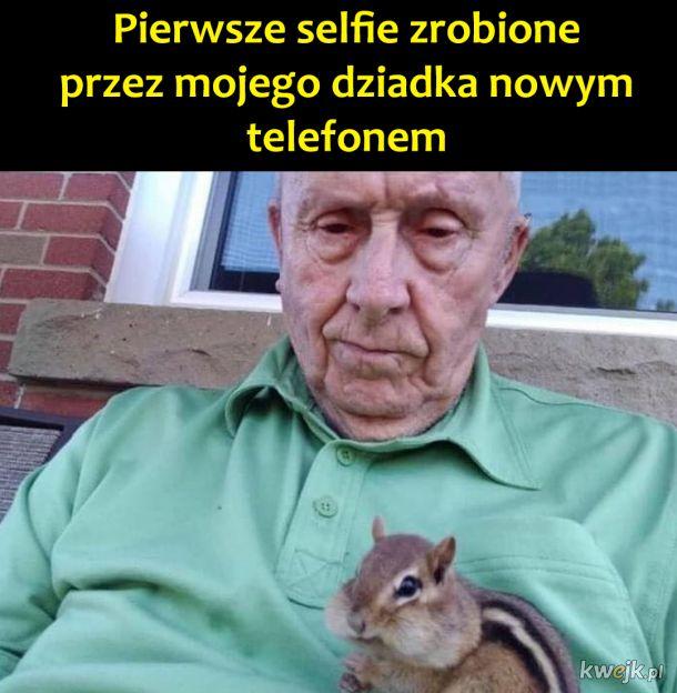 Fajne selfie