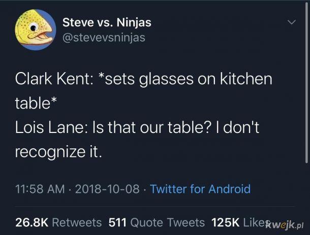 Gdzie stół ja się pytam?