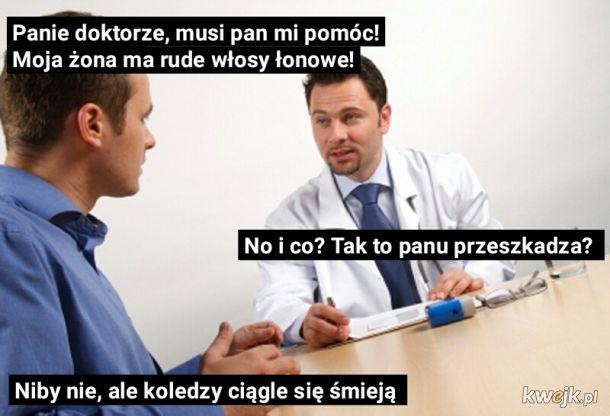 Przychodzi chłop do lekarza