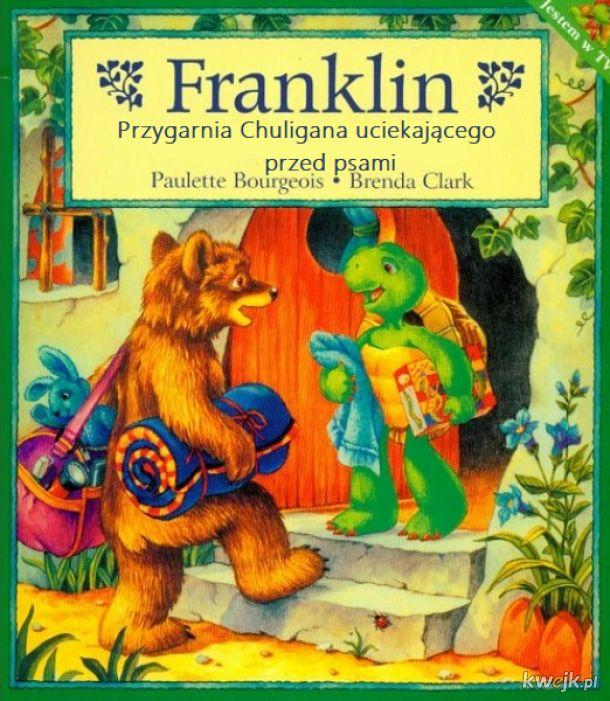 Franklin Przygarnia Chuligana Uciekającego Przed Psami