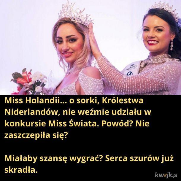 Solidaryzując się, również nie wezmę udziału w konkursie Miss World