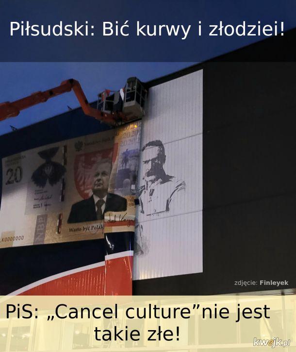 Piłsudski nie dorównuje współczesnym liderom