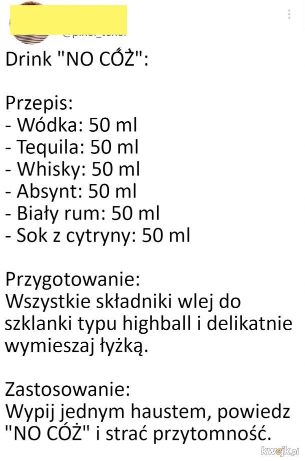 Przepis na drinka