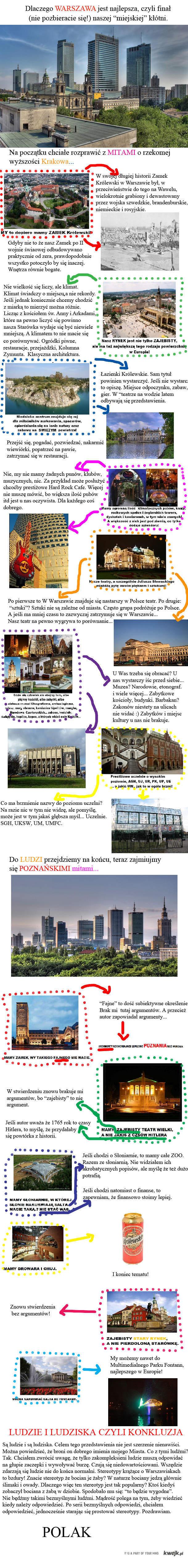 Warszawa - koniec kłótni
