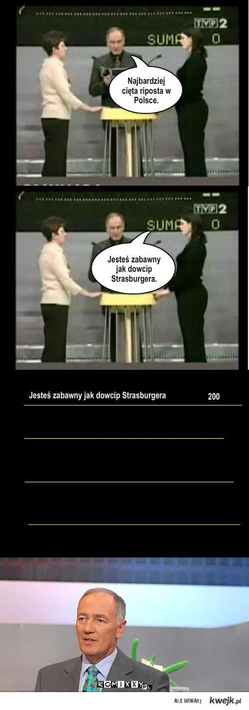 Strasburger Strikes Back