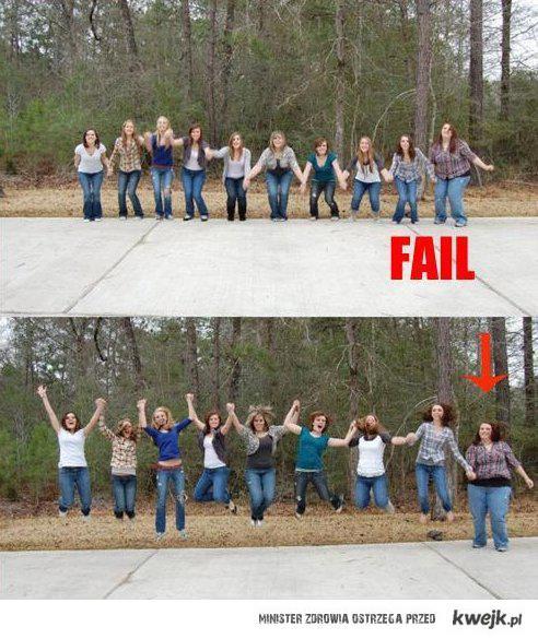 big girl fail