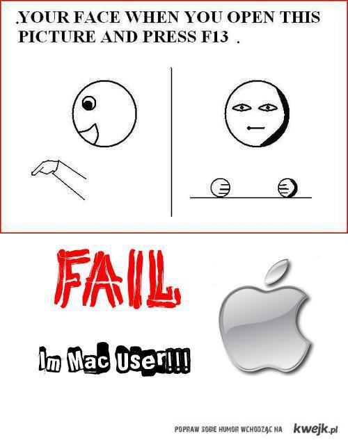 F13 Fail