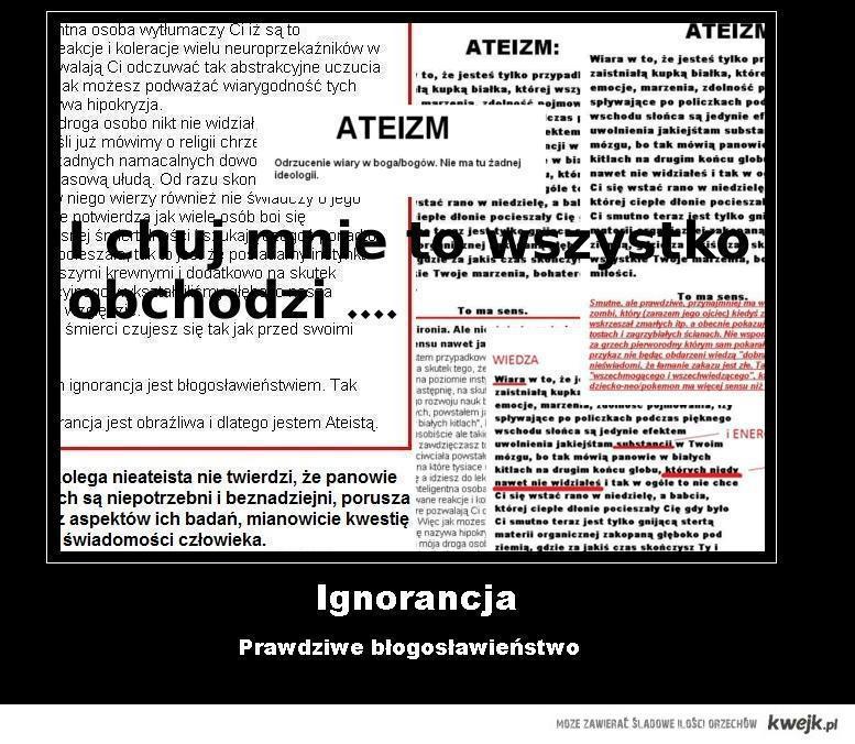 ignorancja