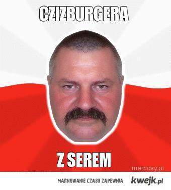Czizburgera z serem