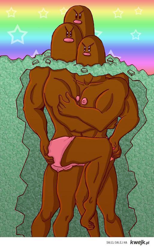 Dugtrio Gay