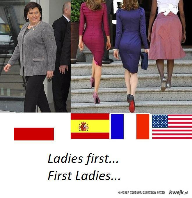 First ladies...