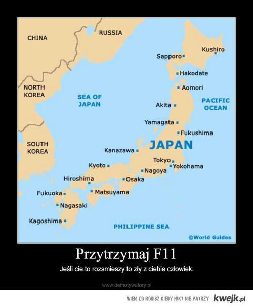 E-Trzęsienie w Japonii
