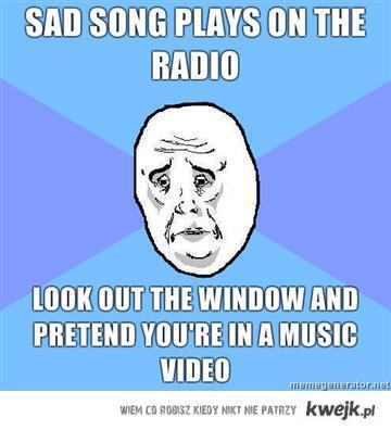 Sad Song On The Radio