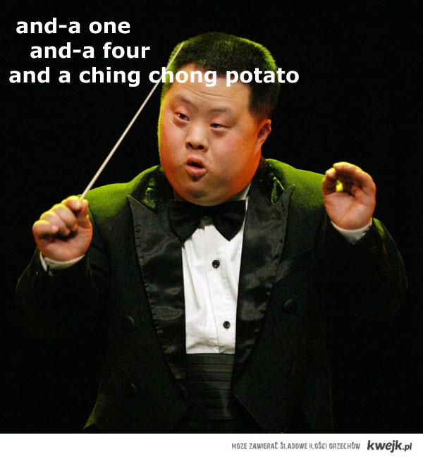 and a ching chong potato