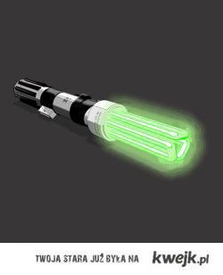 energooszczędny miecz świetlny