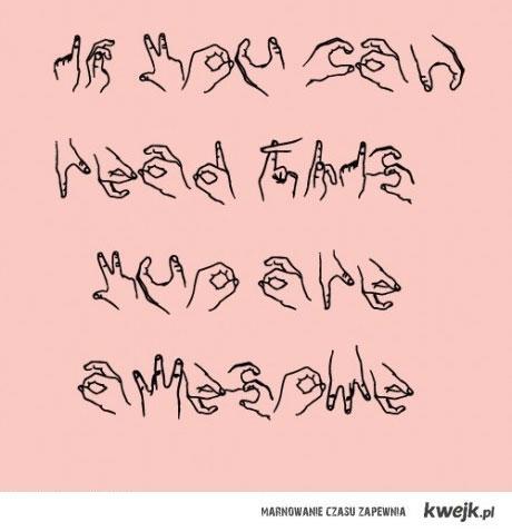 A jeśli znajdziesz jeszcze błąd ortograficzny... to jesteś boski.
