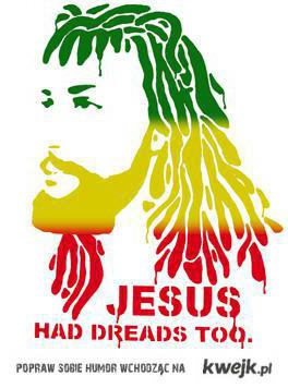Jesus has dreads too