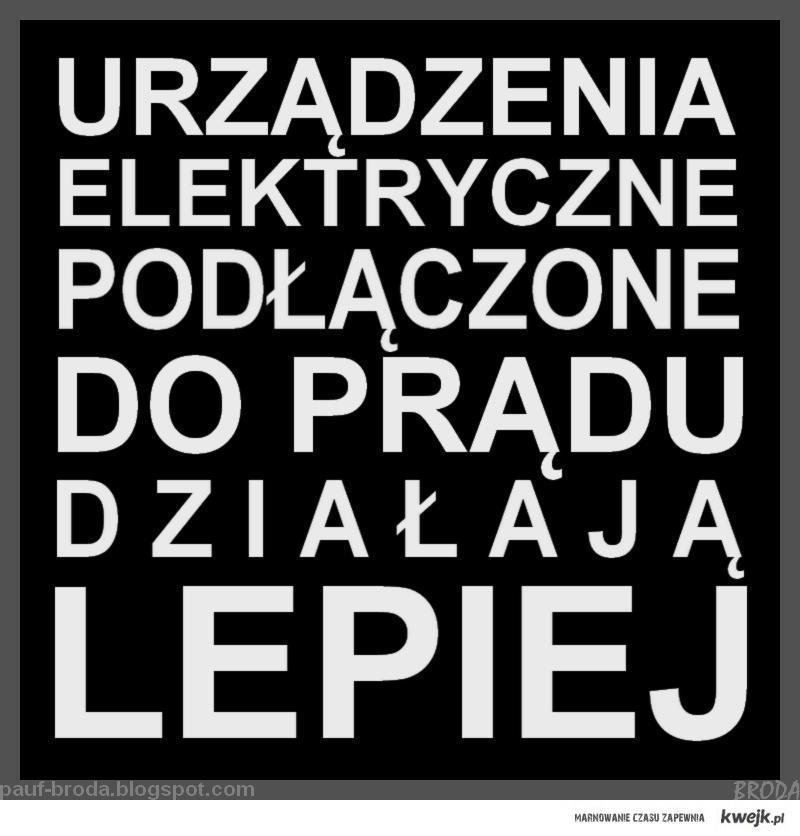 Urządzenia elektryczne...