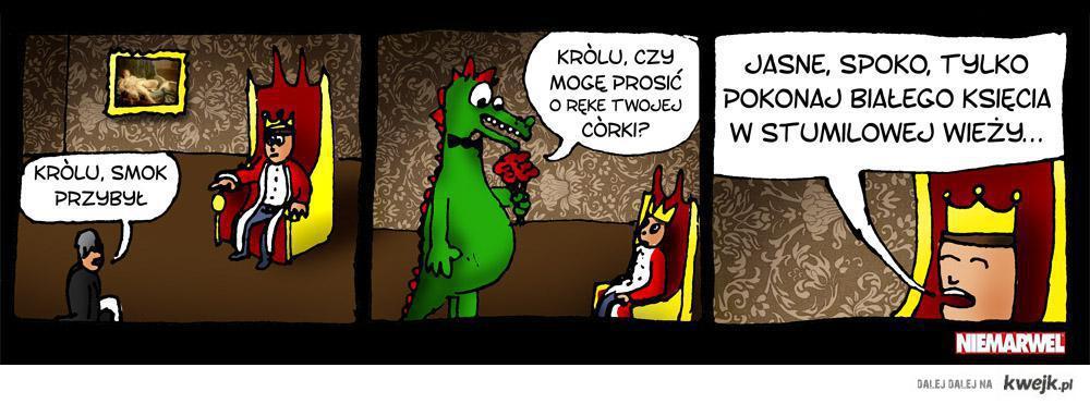 Krol i smok