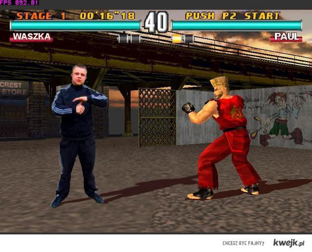 Ważka G walczy jak w Tekkenie