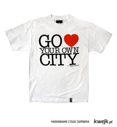 koszulka I <3 city